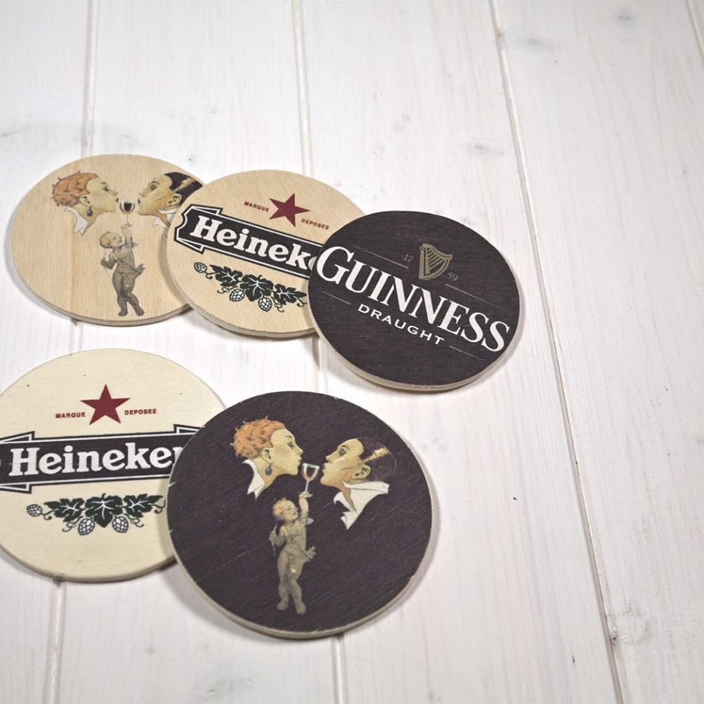 Sottobicchiere Wooden Coaster