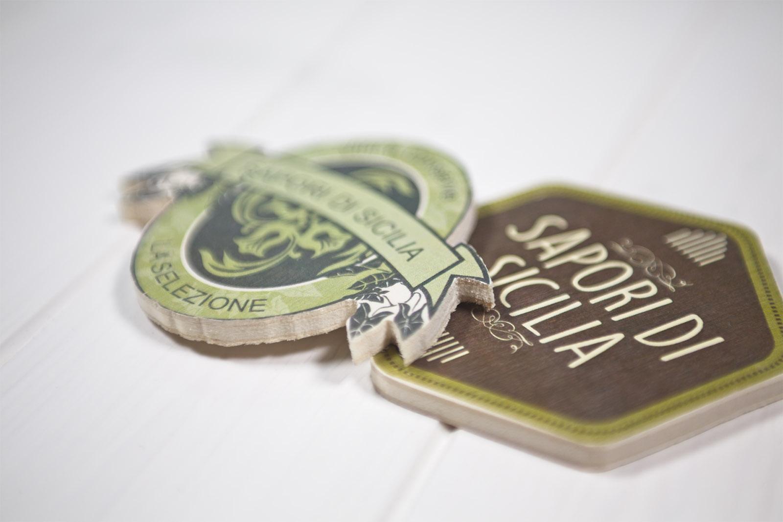 Sottobicchiere In Legno Personalizzabile – Wooden Coaster