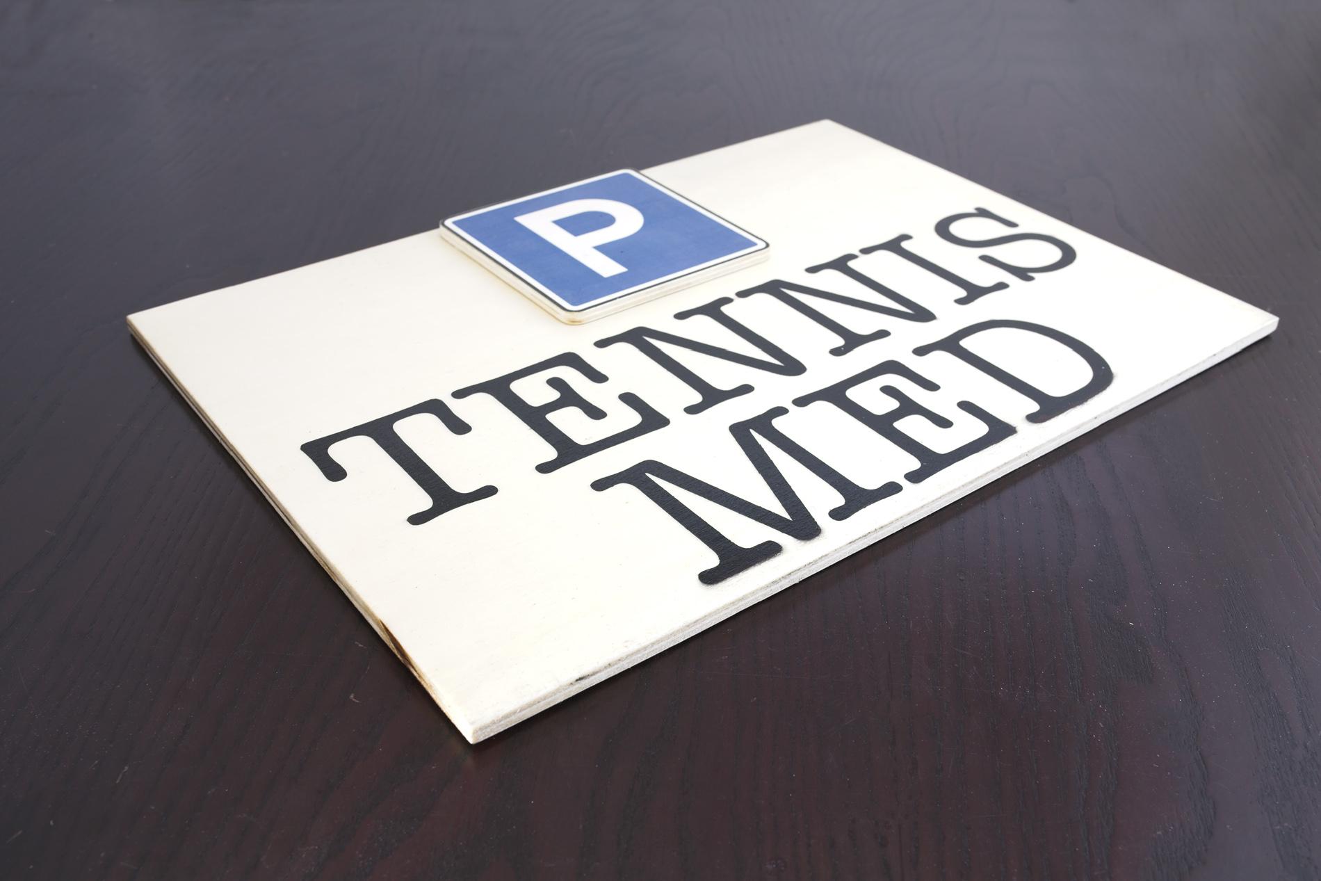 Insegne Di Legno - Tennis Med