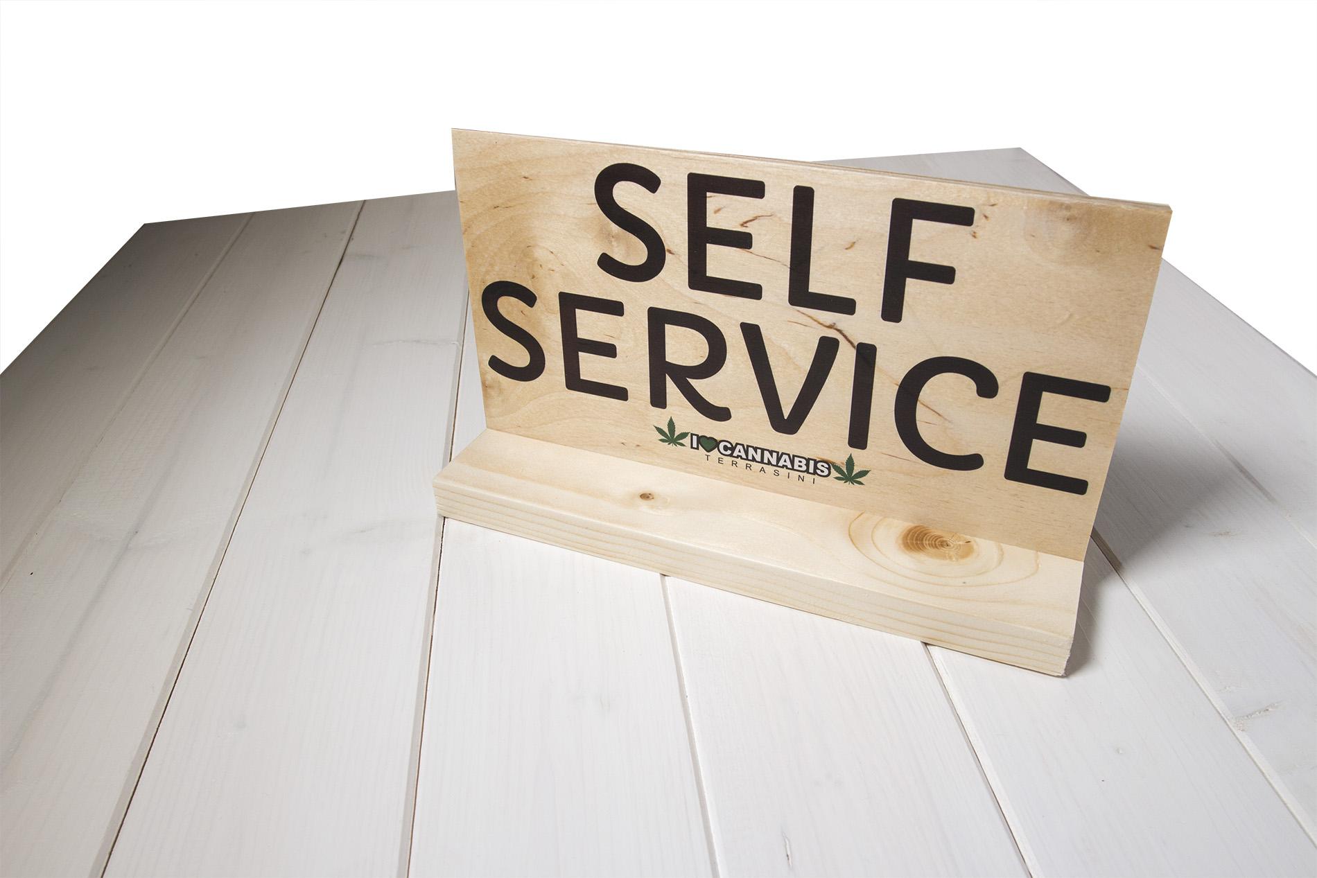 Insegne Di Legno - Self Service