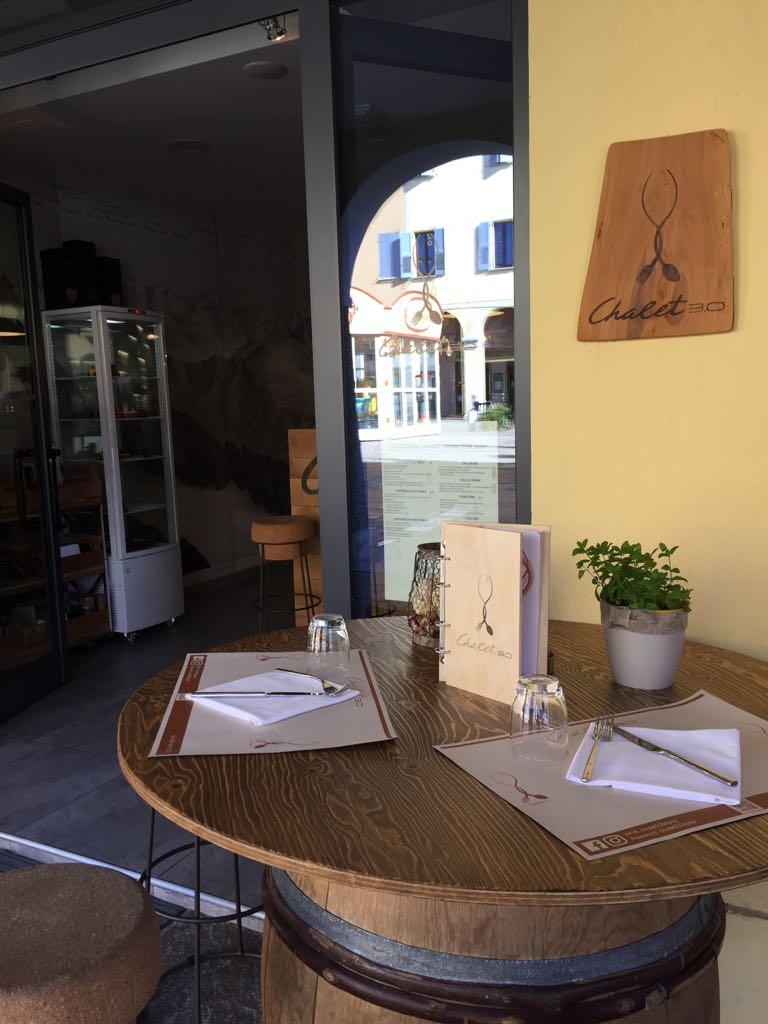 Chalet 3.0 - arredamento ristorante