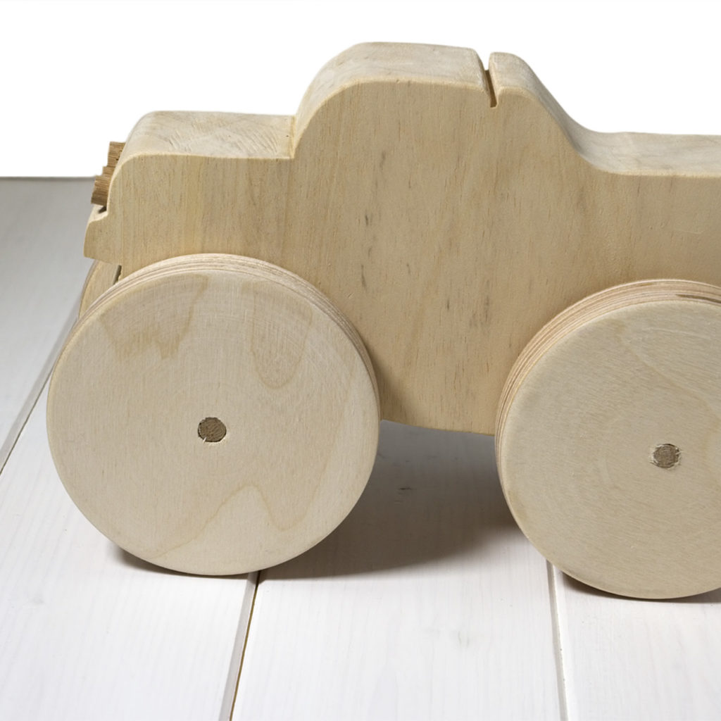 Bigfoot Monster Truck - Macchina di legno
