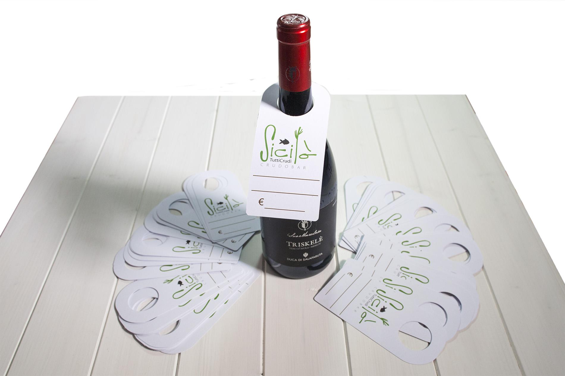 Collarini Per Bottiglie In Cartoncino