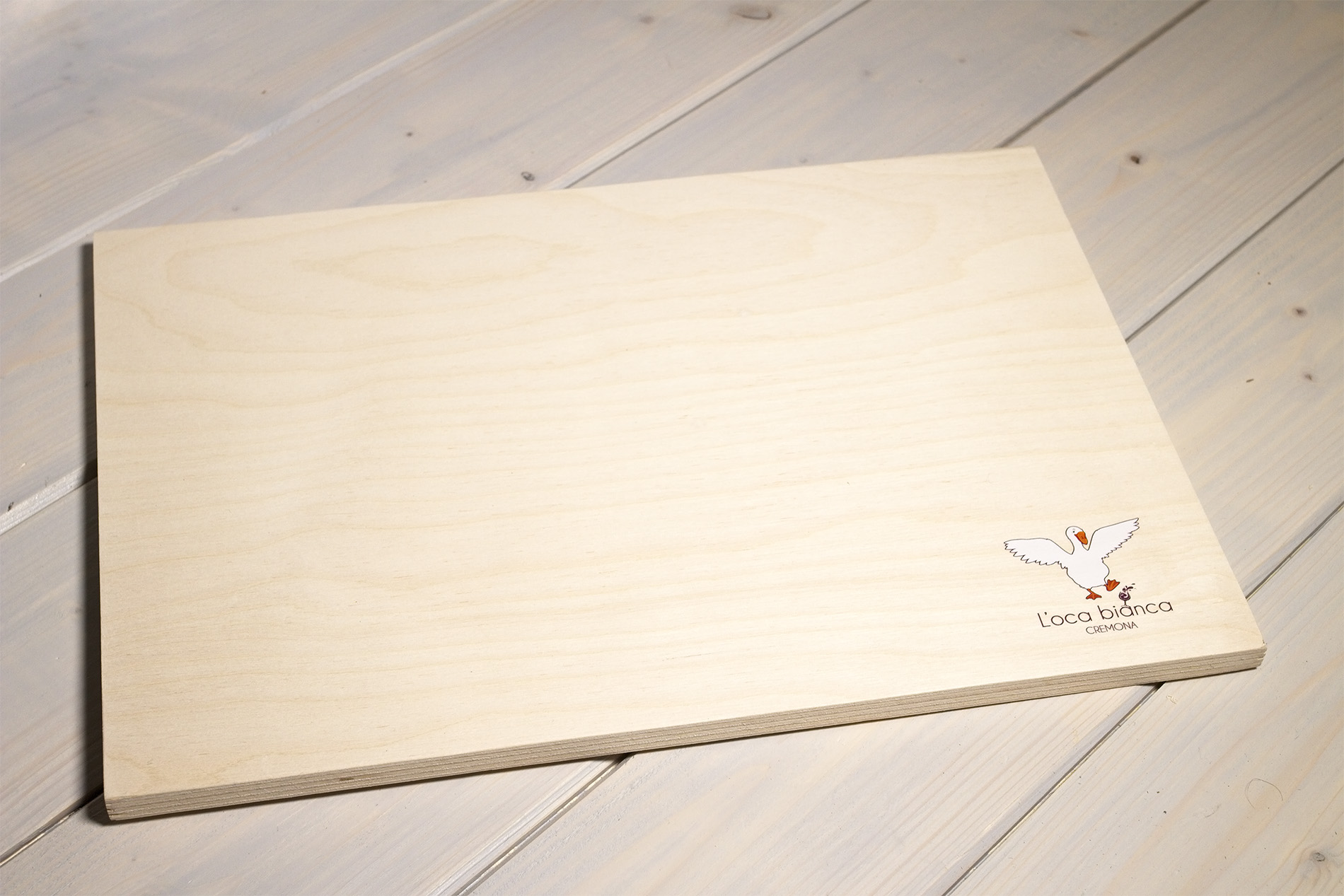 Chianchiere - Tagliere In Legno Personalizzato - L'Oca Bianca
