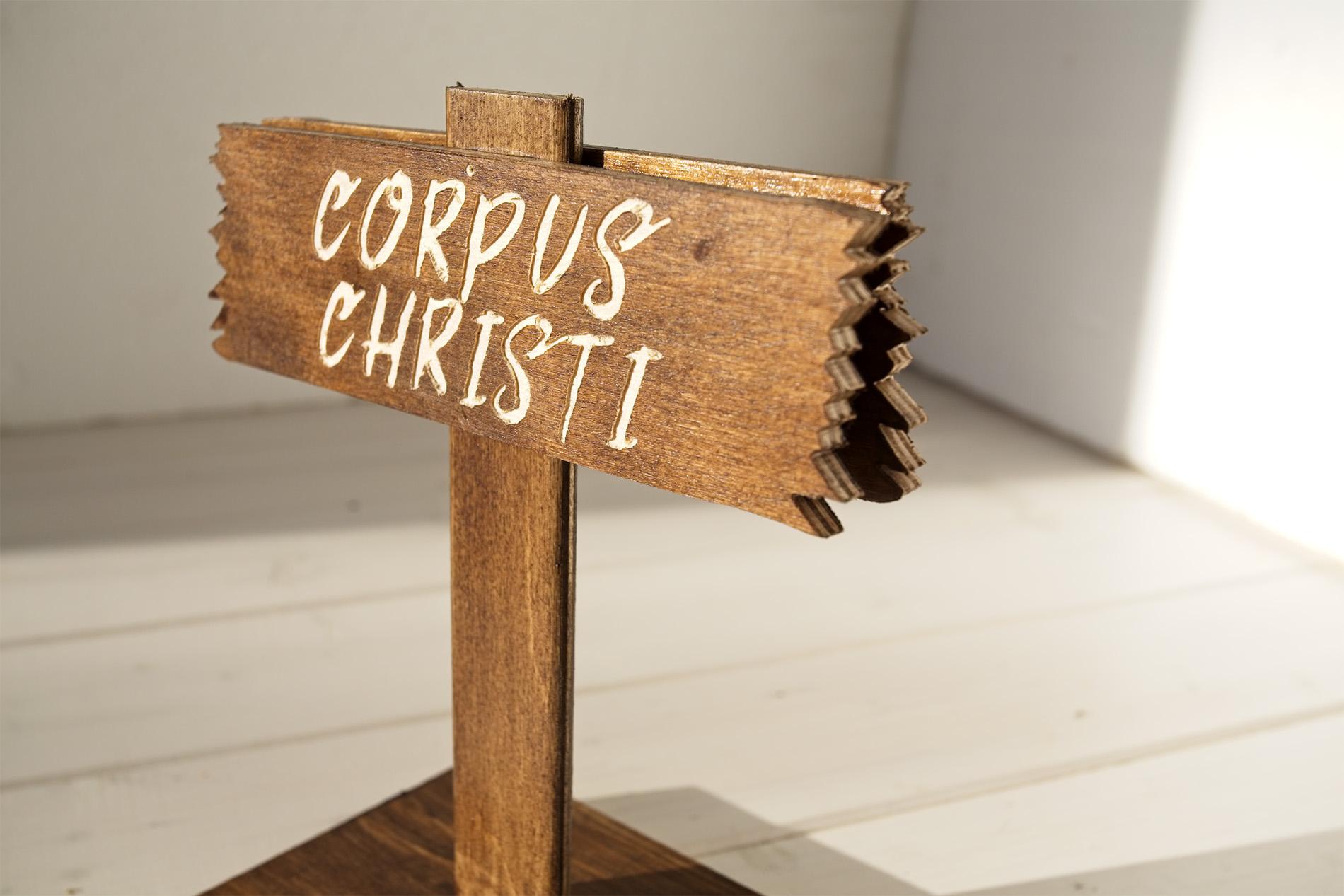 Segnatavolo Segnaposto Wild West - Corpus Christi