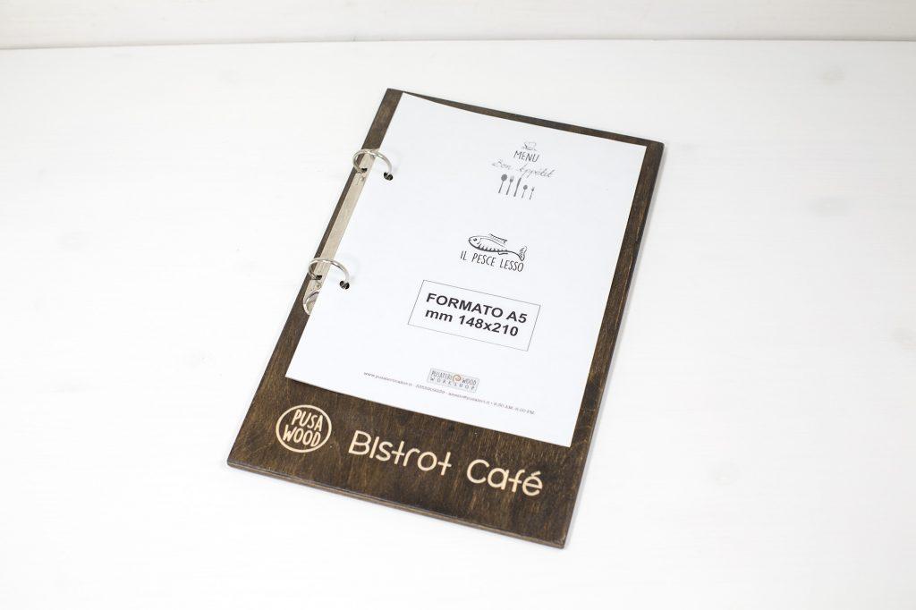 Portamenu Capo Gallo - PusaWood Bistrot Cafe