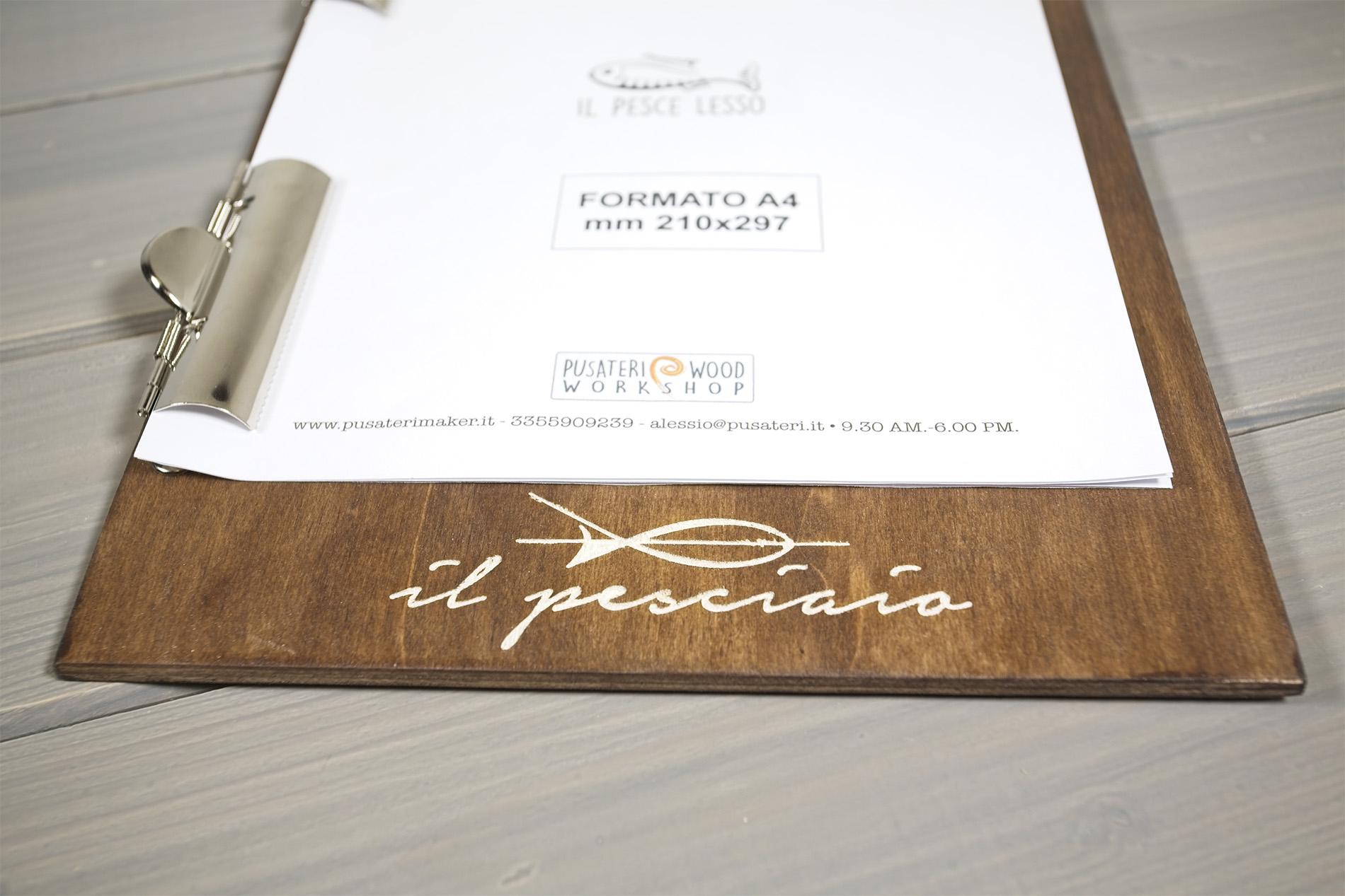 Palermo Portamenu A Doppia Pinza Deluxe