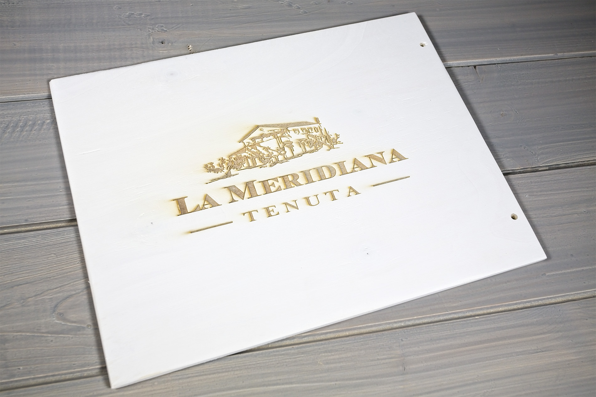 Portamenu Addaura Tentuta La Meridiana
