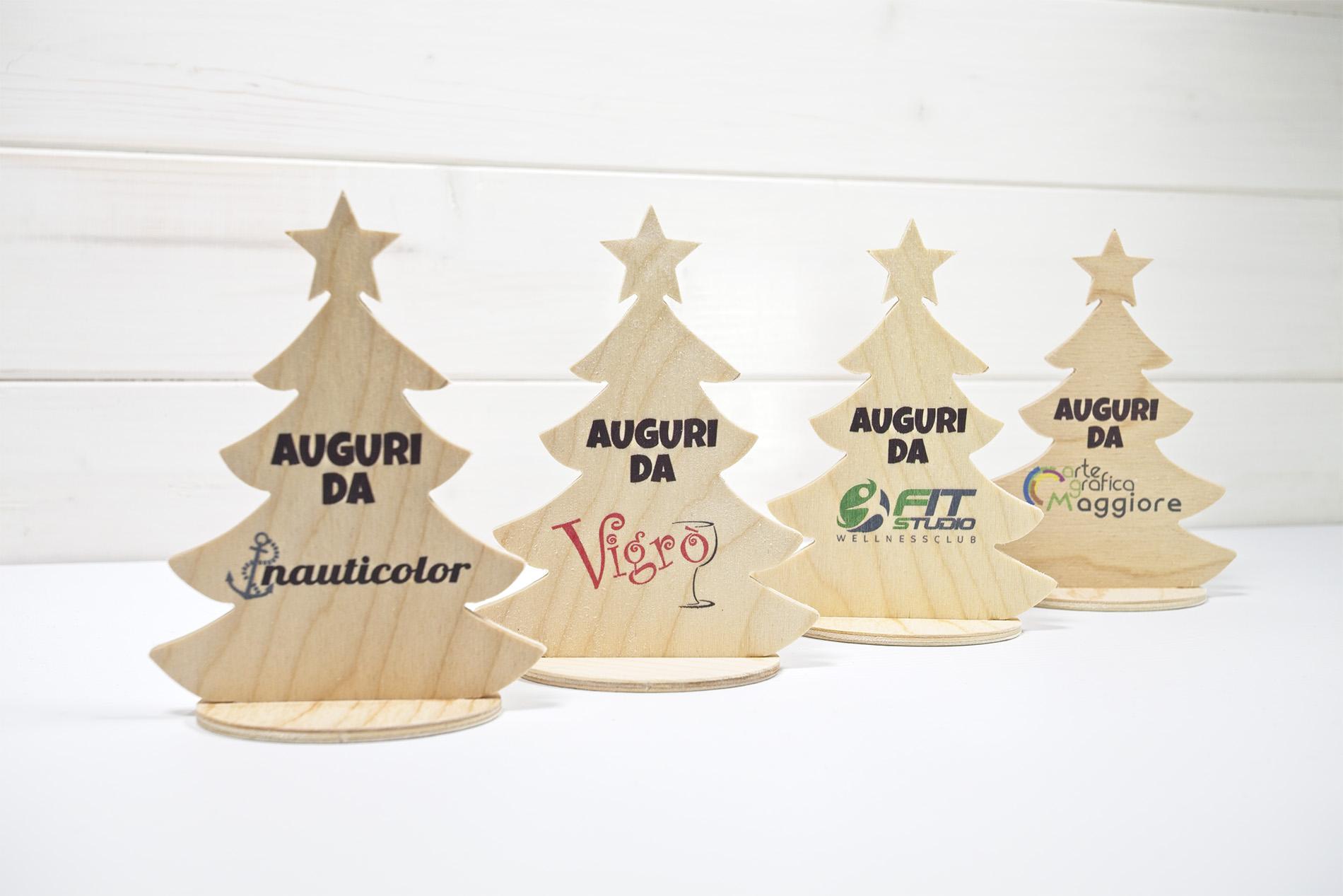 Alberello Di Natale Da Tavolo Personalizzabile