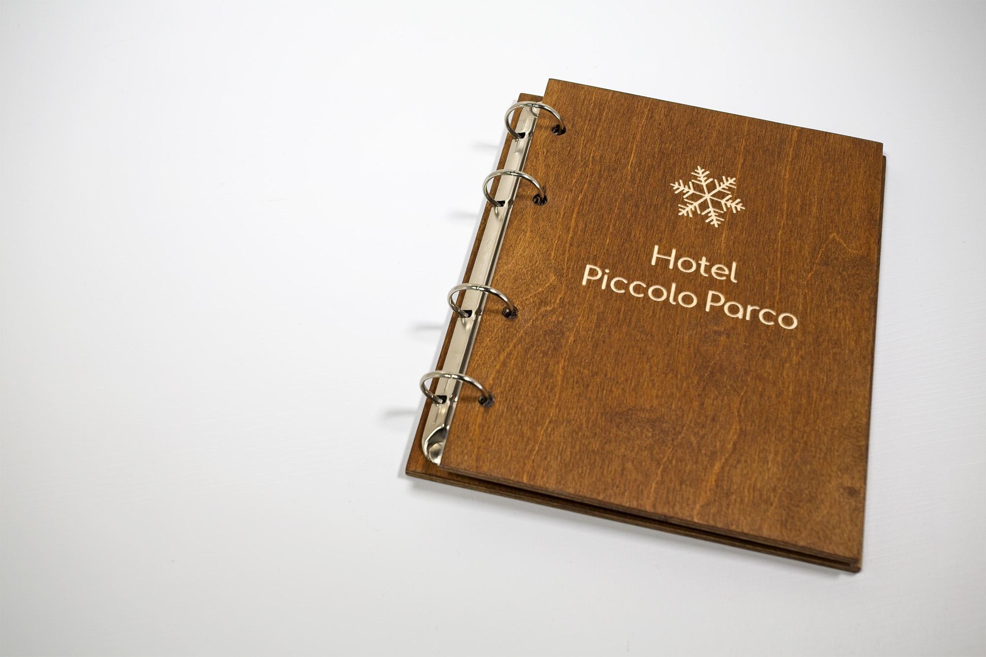 Portamenu Papireto Hotel Piccolo Parco