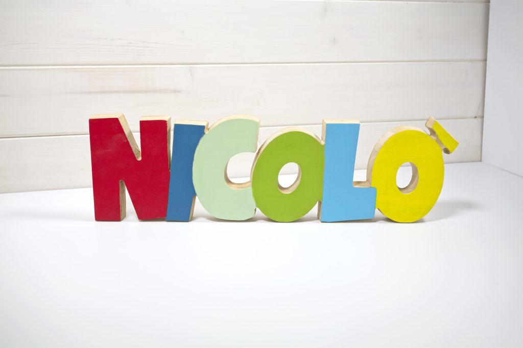 Nome inciso grande Nicolò