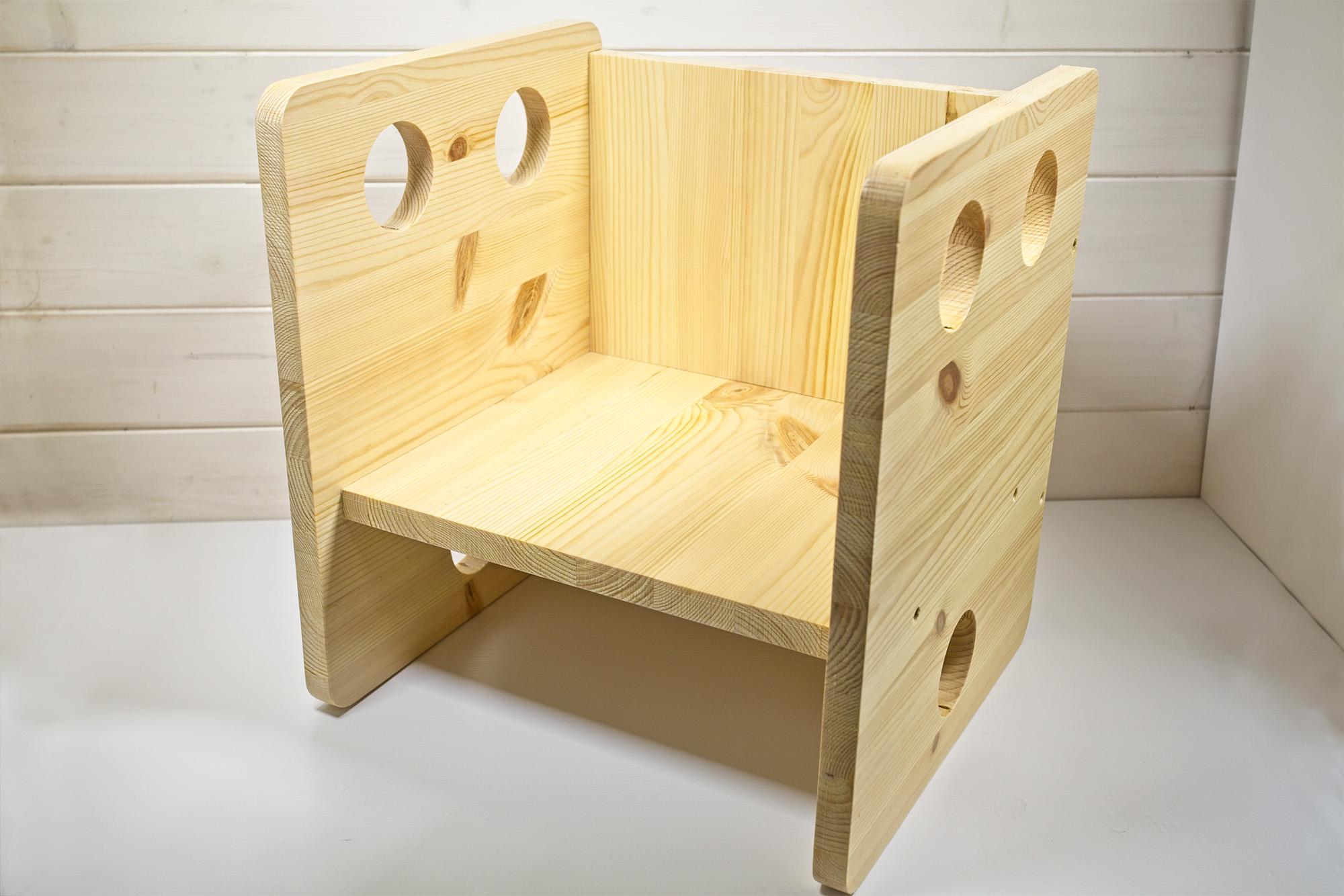 Sedia Cubo Stile Montessori - Cube Chair