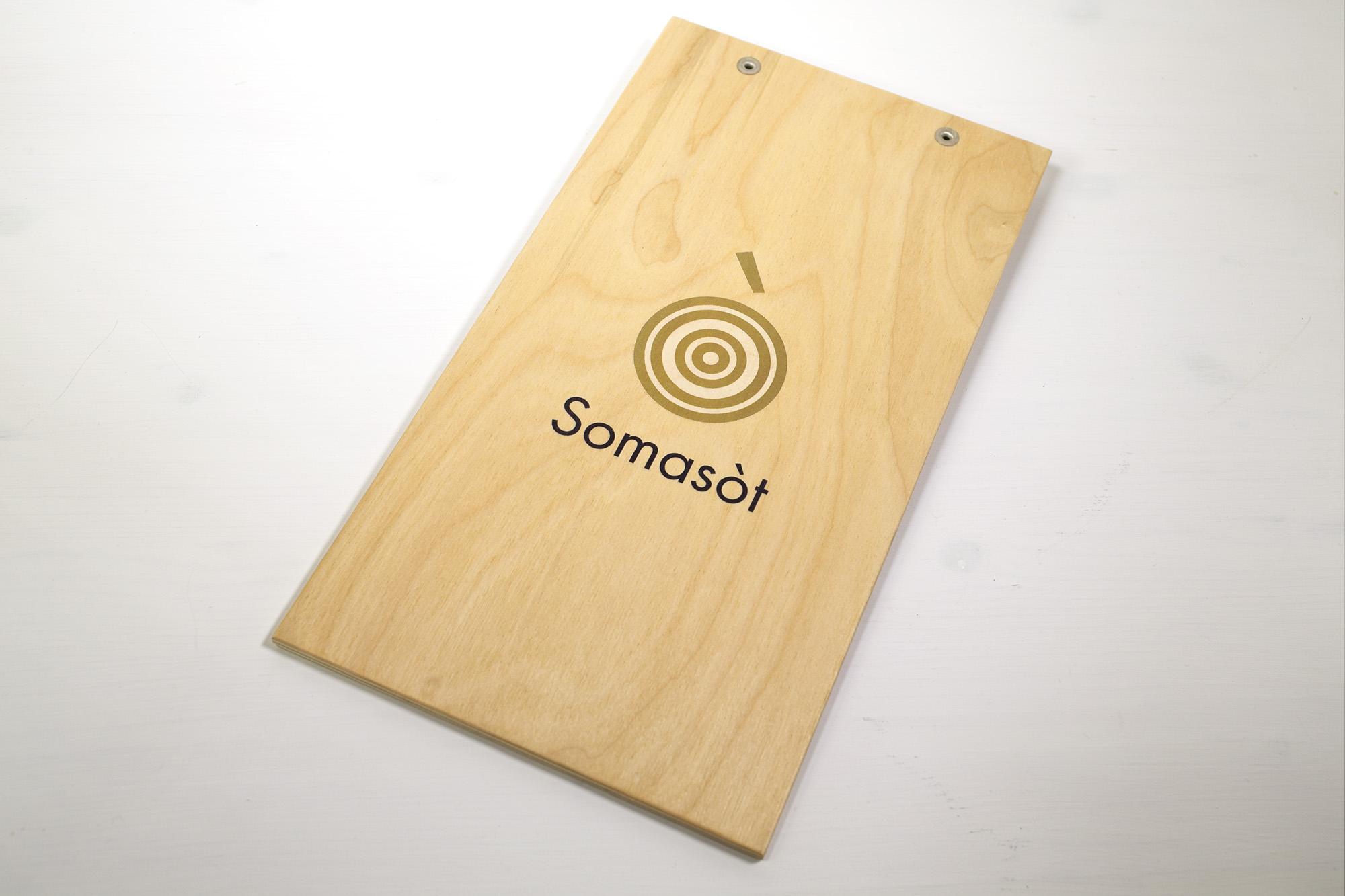 Portamenu Bandita Con Pinza Personalizzato Somasòt