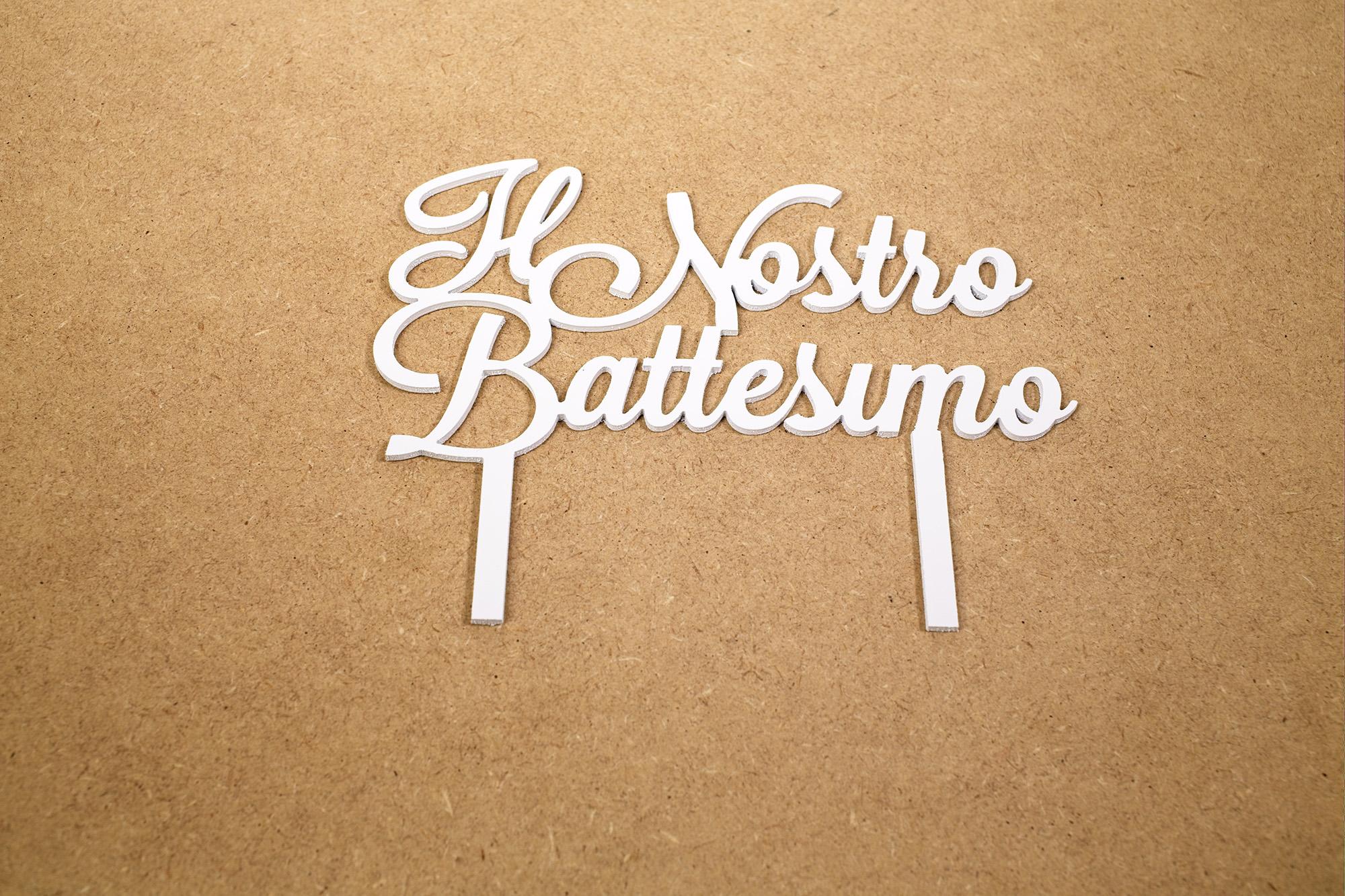 Top Cake Il Nostro Battesimo