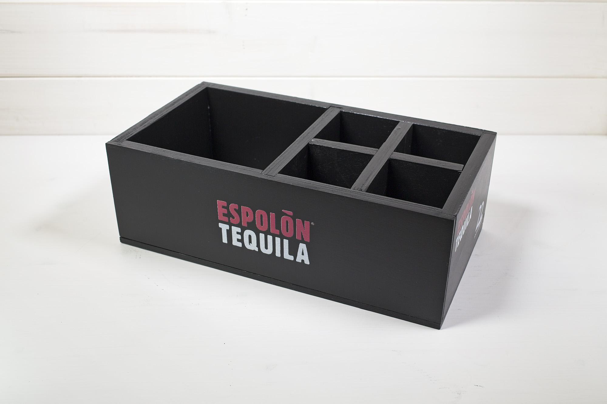 Cassetta Tequila Espolon 22 Lounge Bar