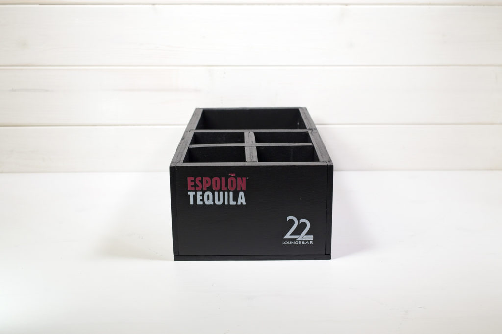 Cassetta Tequila Espolon 22 Lounge Bar