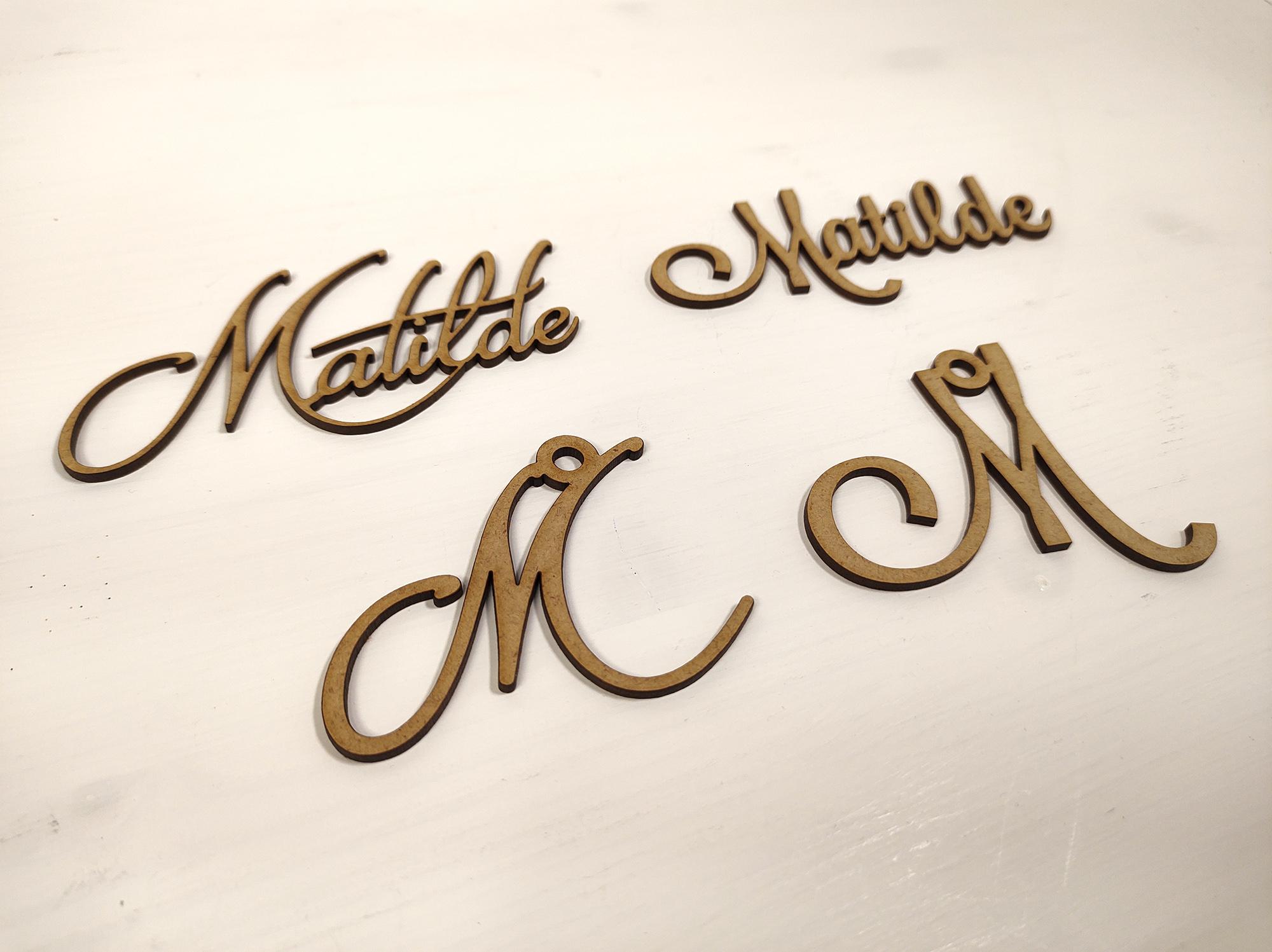 Nome Piccolo Inciso Matilde