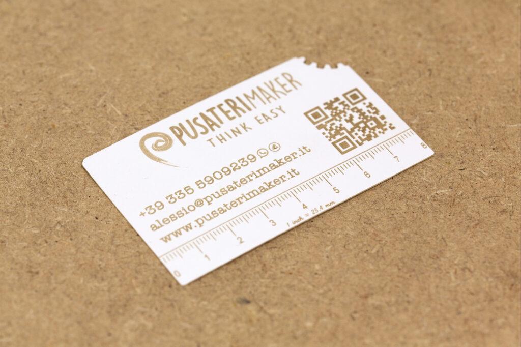 Biglietti da visita laser