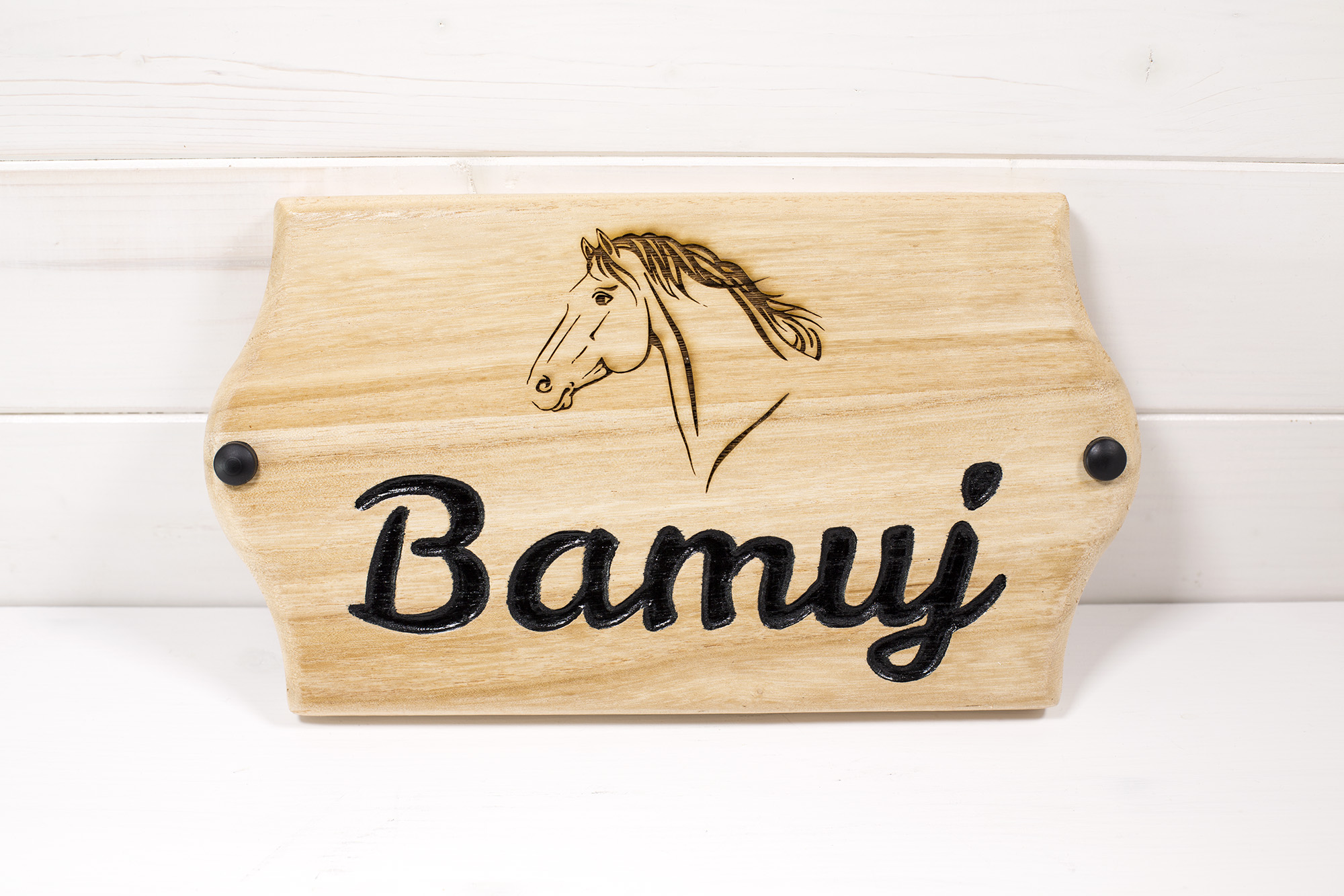 Targa Box Cavalli Bamuj