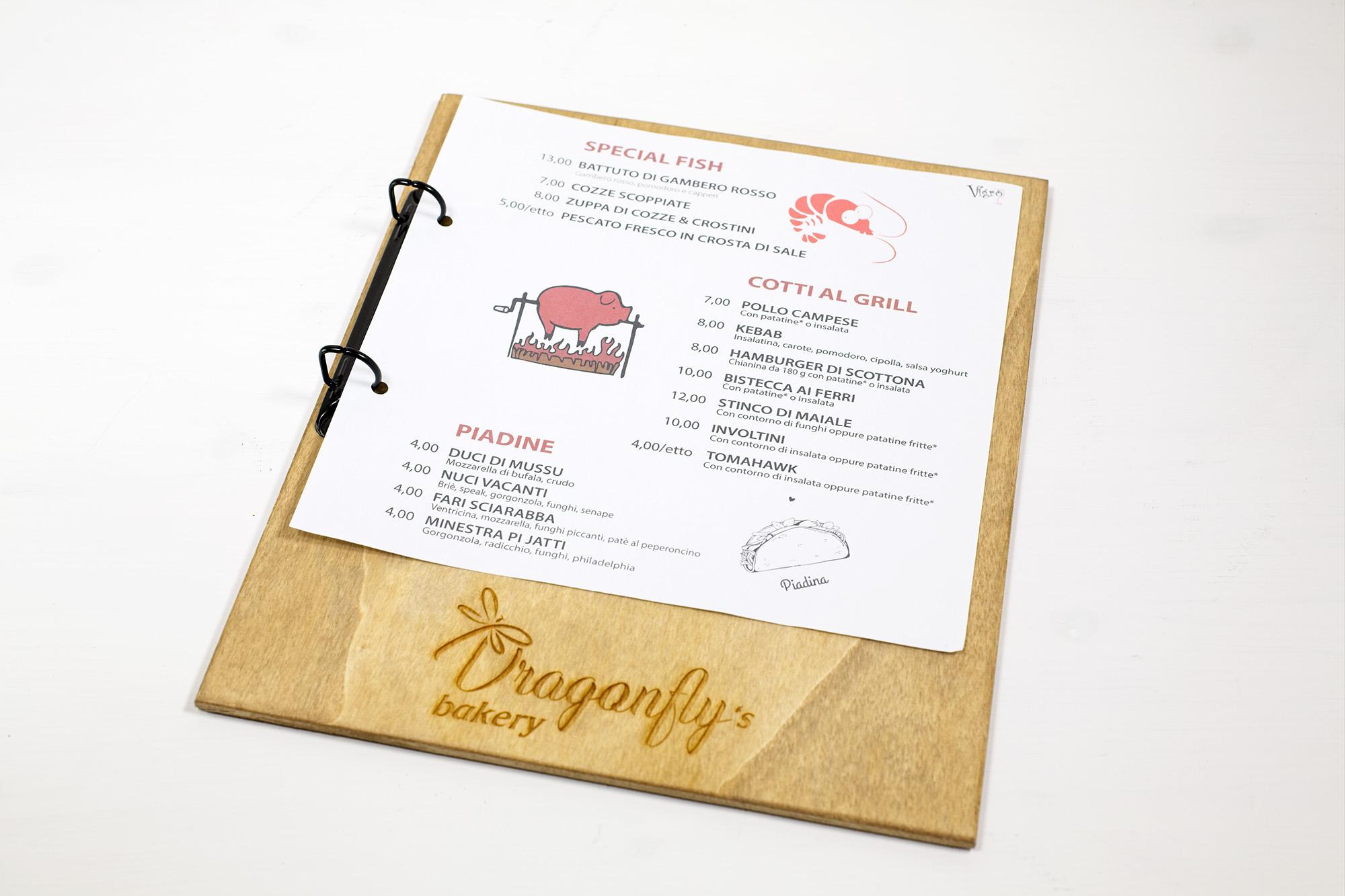 Portamenu Casteldaccia Dragonfly's