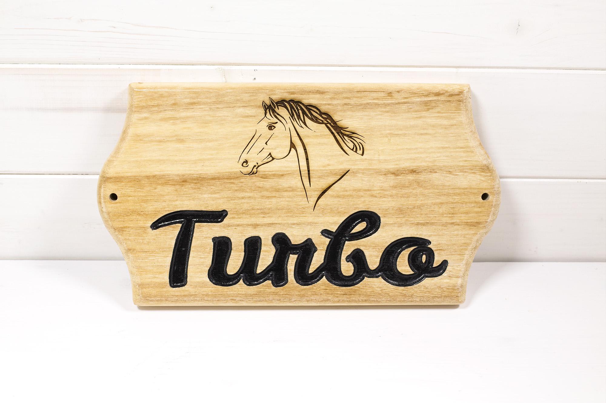 Targa Box Cavallo Turbo