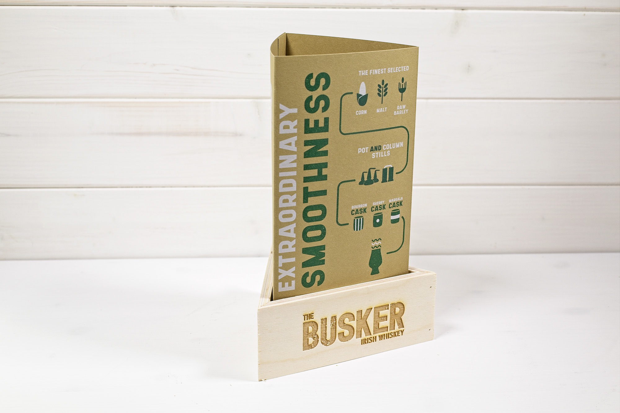 The Busker Table Tent