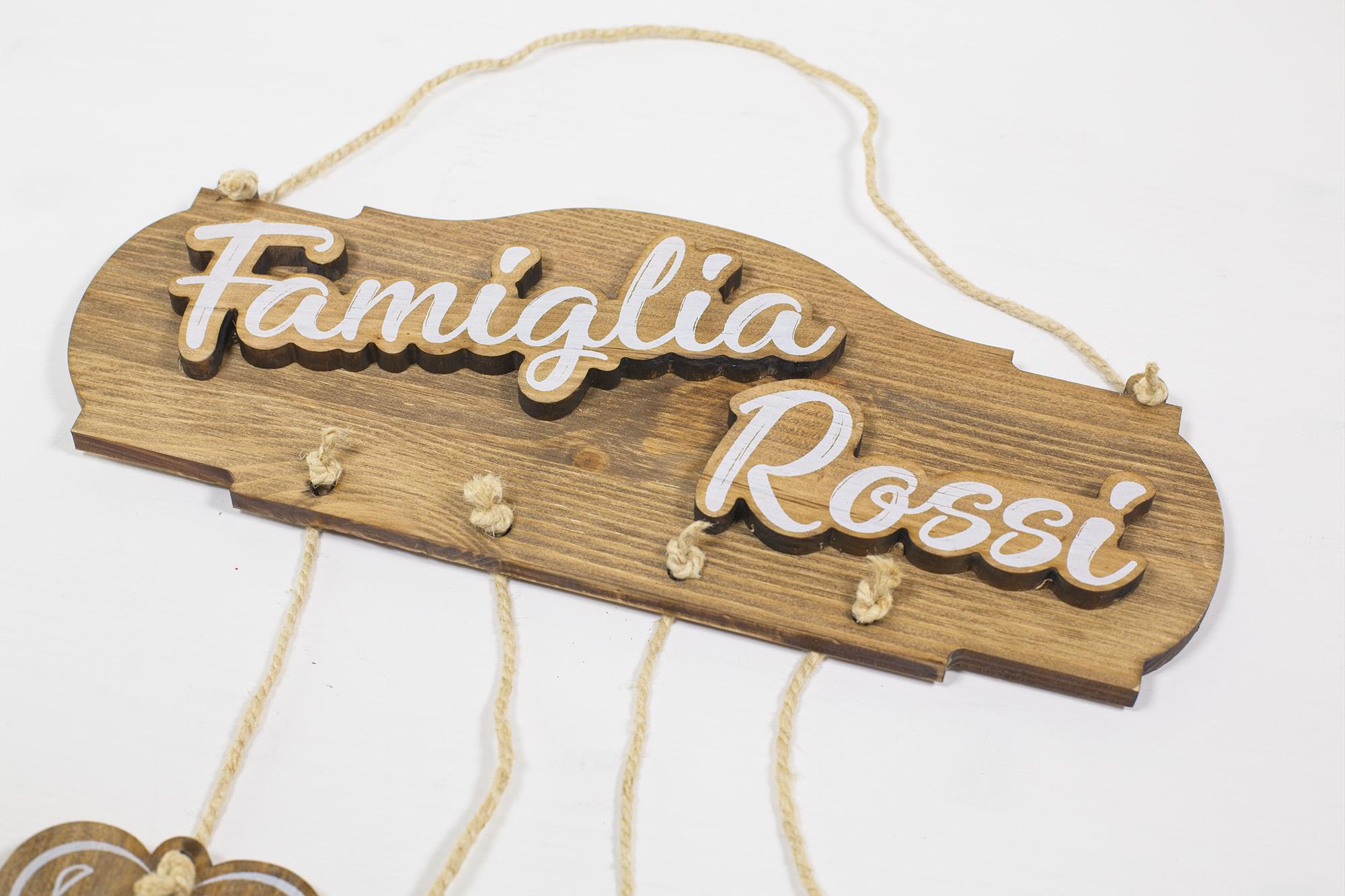 Targa Famiglia Rossi