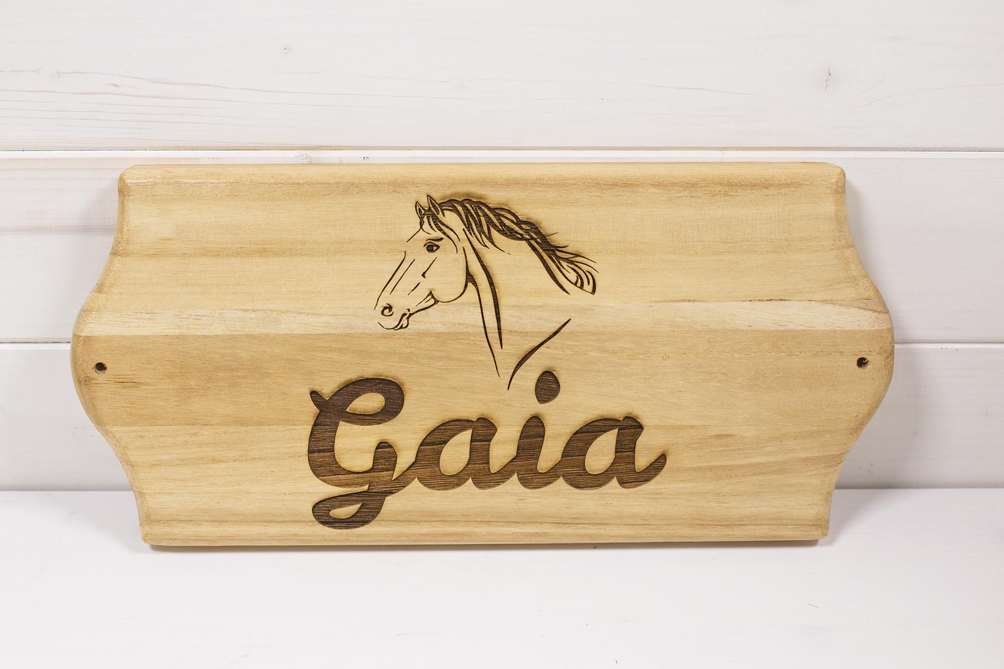 Targa Box Cavalli Gaia