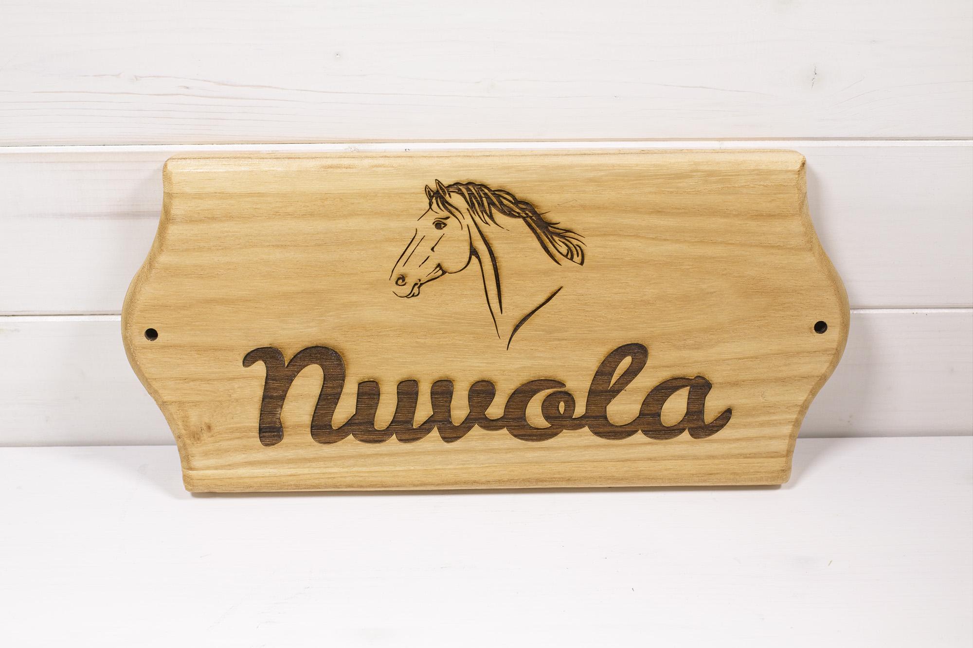 Targa Box Cavalli Nuvola