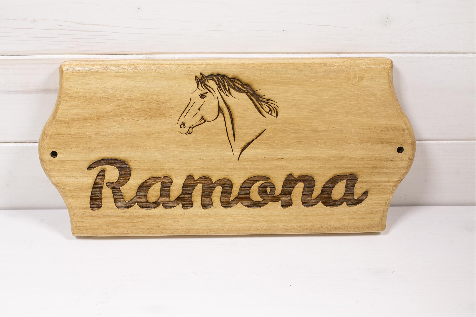 Targa Box Cavalli Ramona