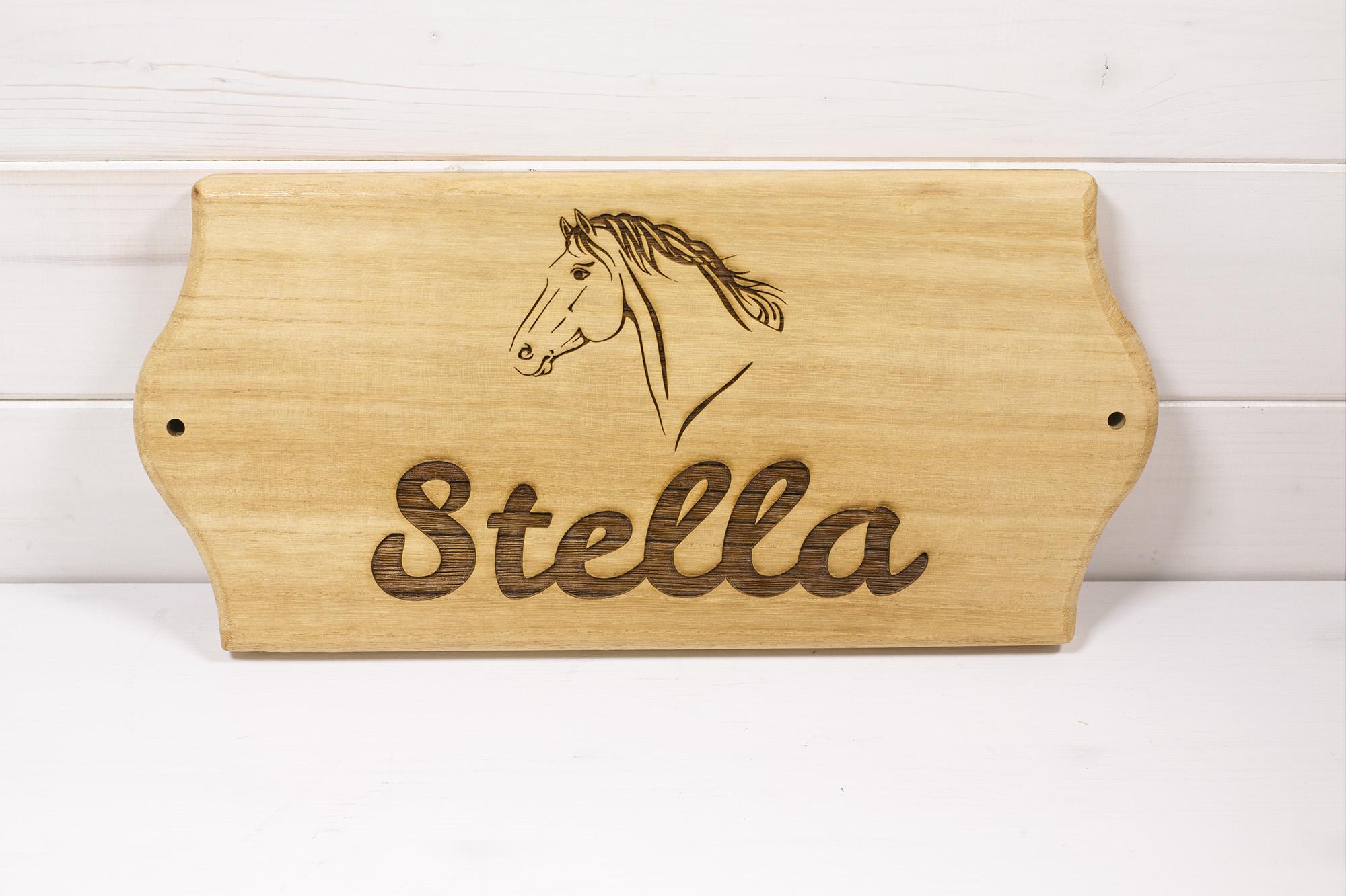 Targa Box Cavalli Stella