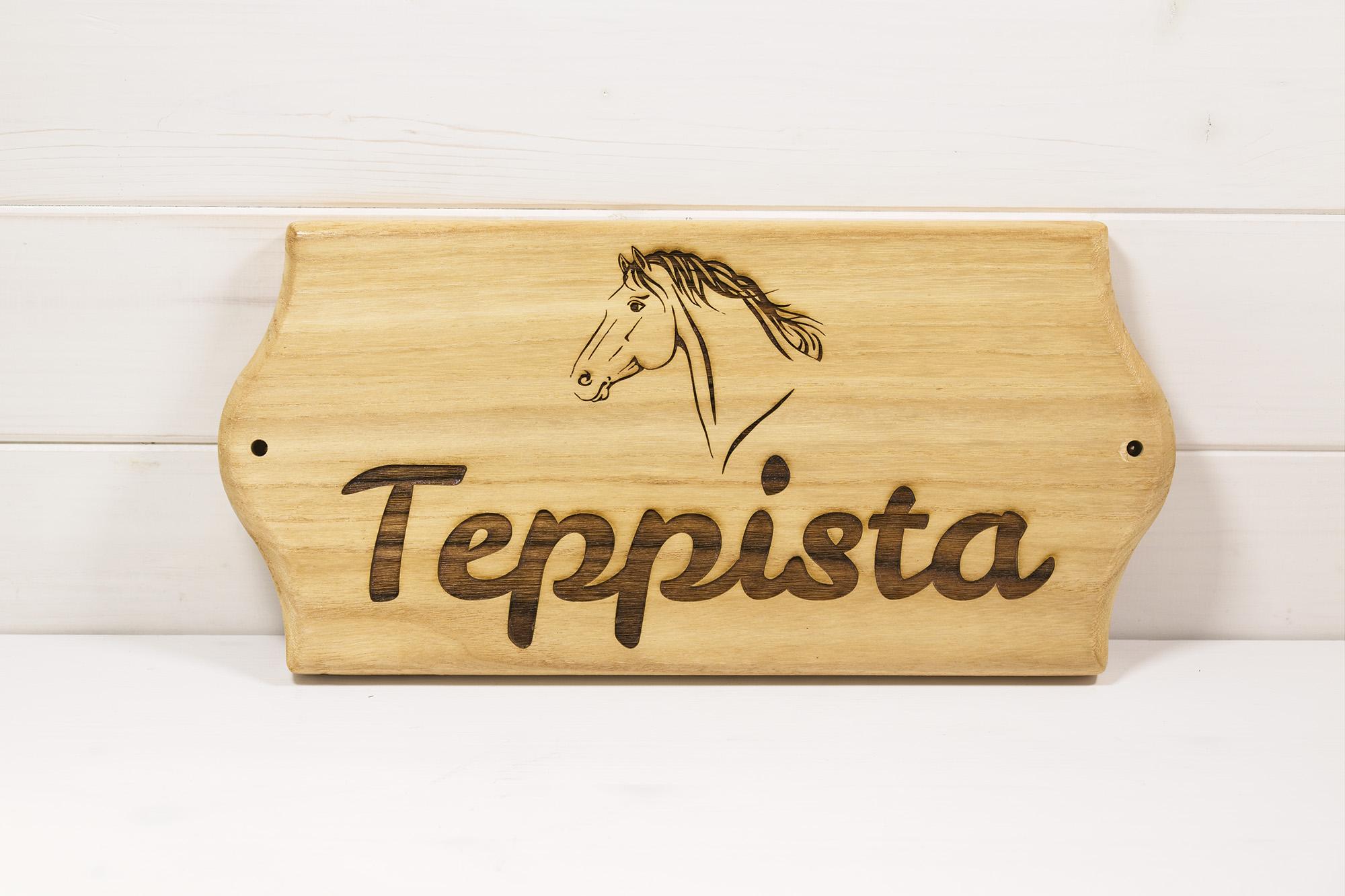 Targa Box Cavallo Teppista