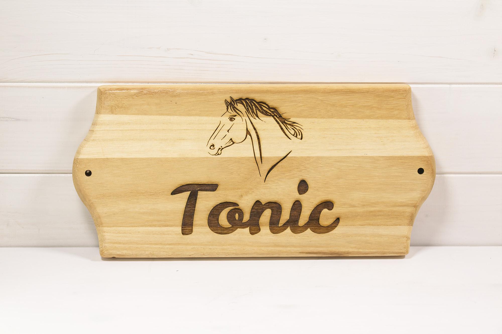 Targa Box Cavallo Tonic