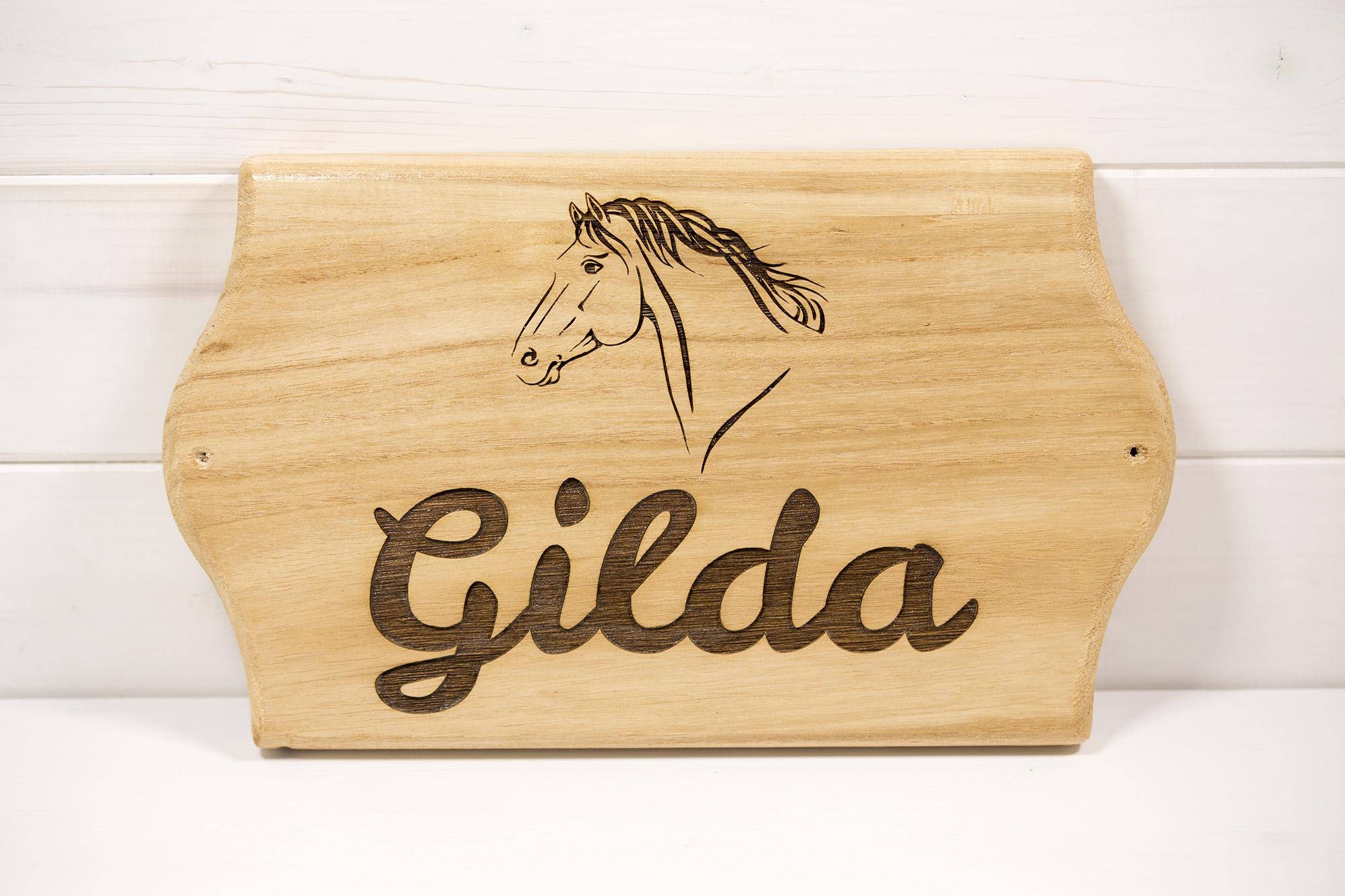 Targa Box Cavalli Gilda