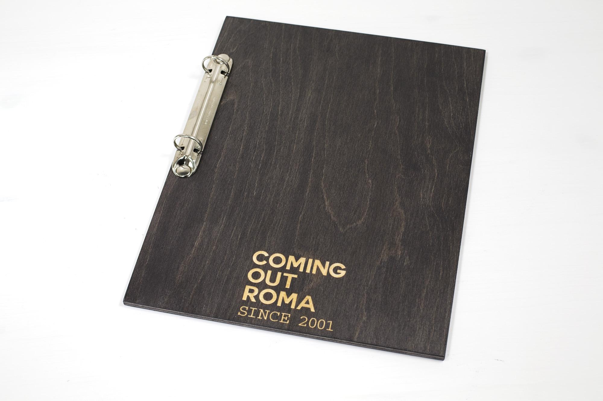 Portamenu Mondello Coming Out Roma
