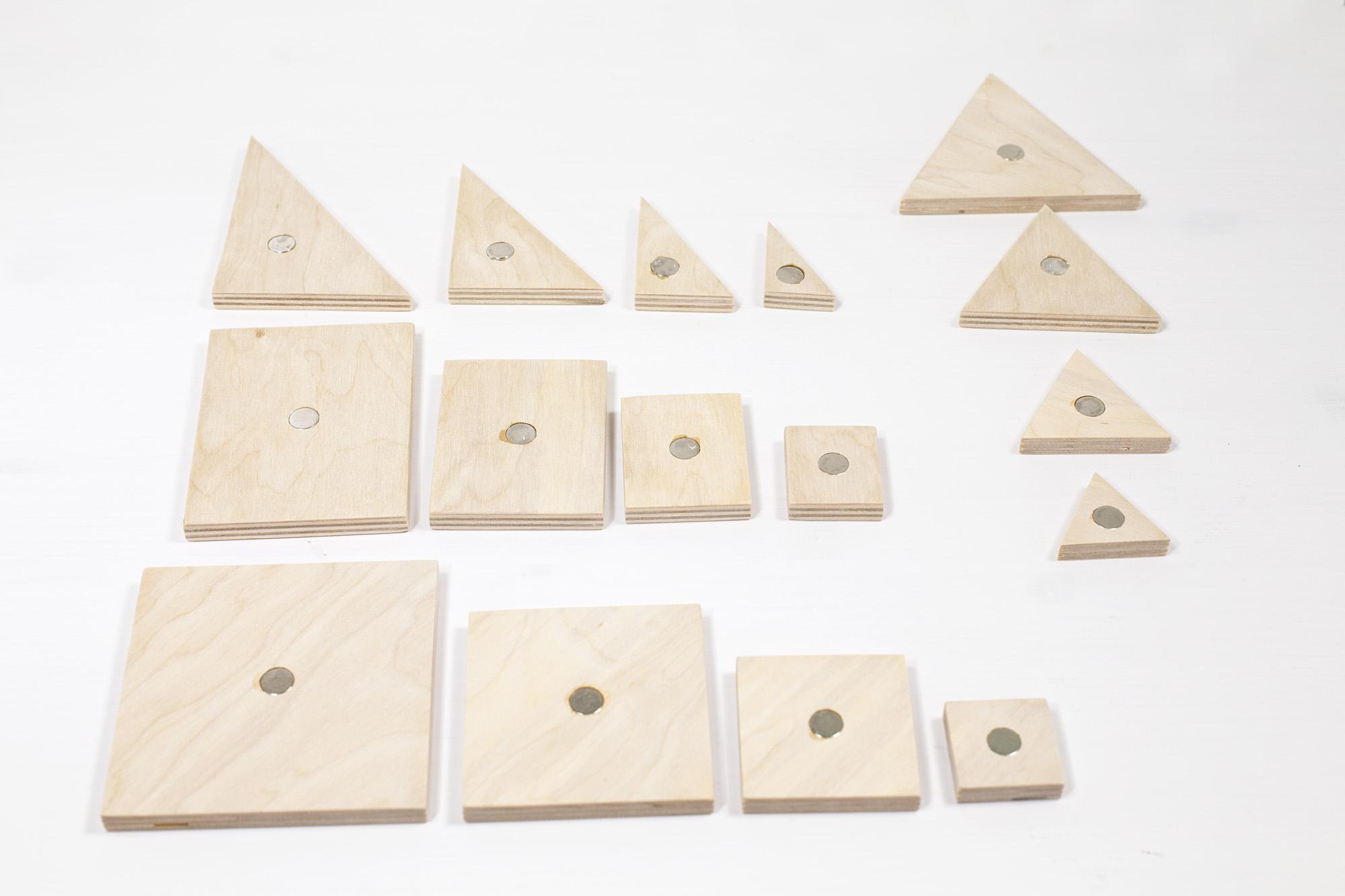 Forme Geometriche Di Legno Per Disabili