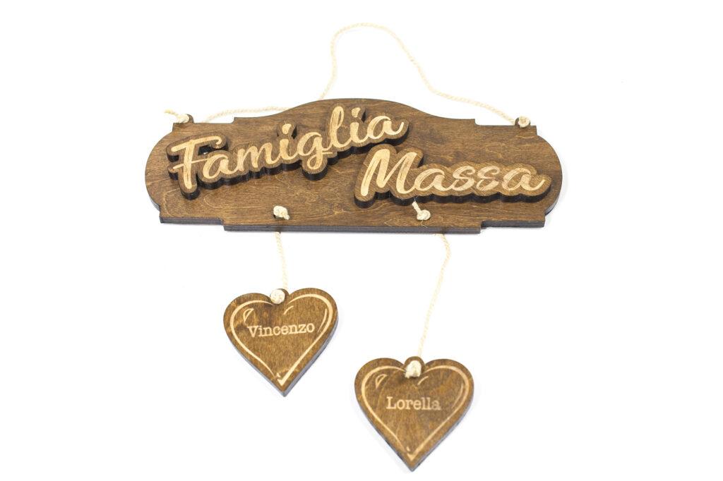 Targa Famiglia Massa
