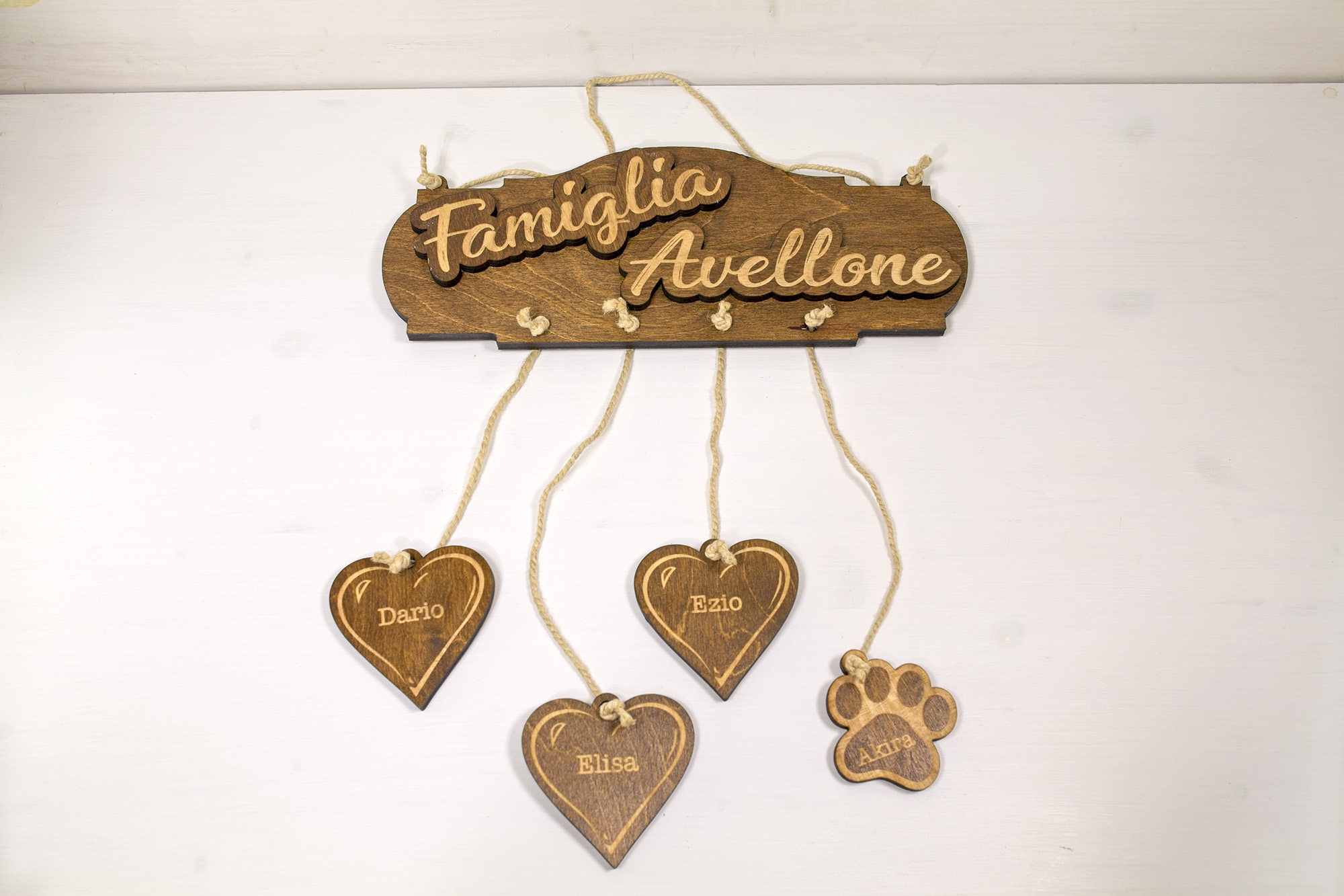 Targa Famiglia Avellone