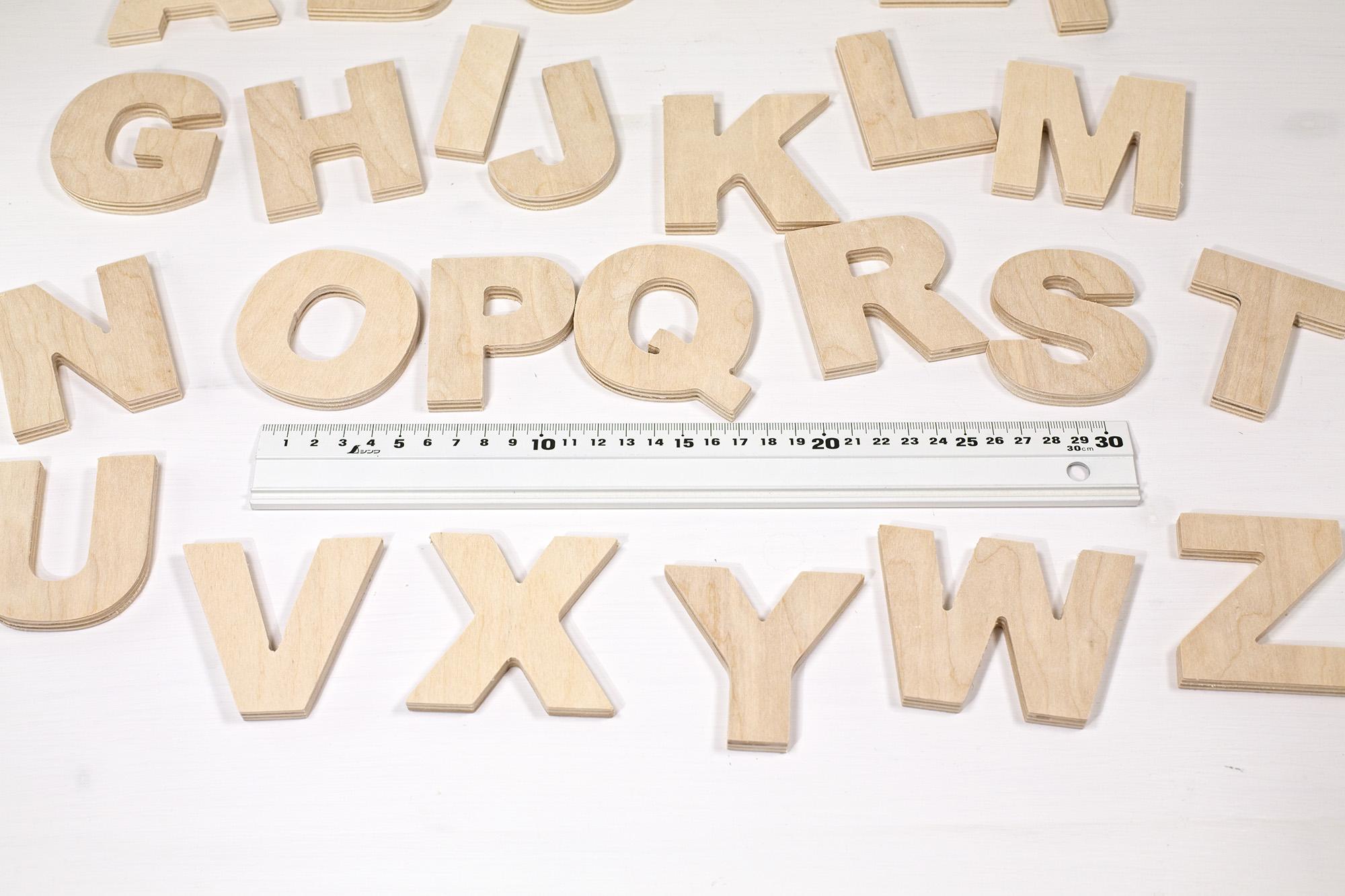Alfabeto Piccole Lettere Di Legno