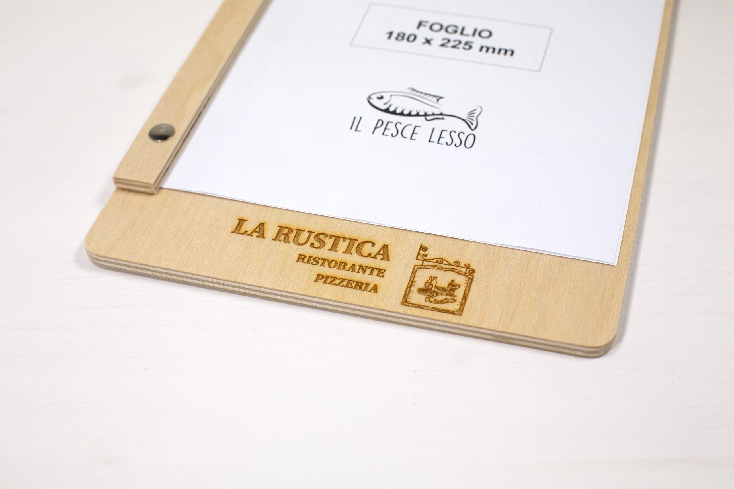 Portamenu Acquasanta - Ristorante Pizzeria La Rustica